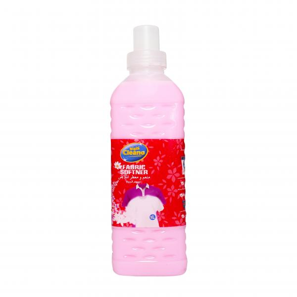 Cleano fabric softener with roses scent 1 liter