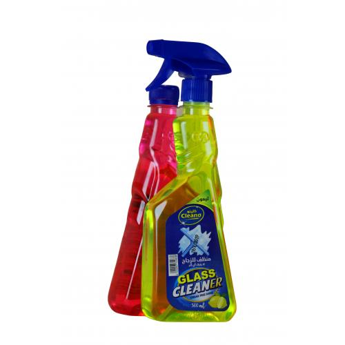 Cleano Glass Cleaner promotion Lemon & Raspberry scent